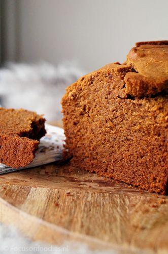 glutenvrije speculaas cake zonder geraffineerde suiker