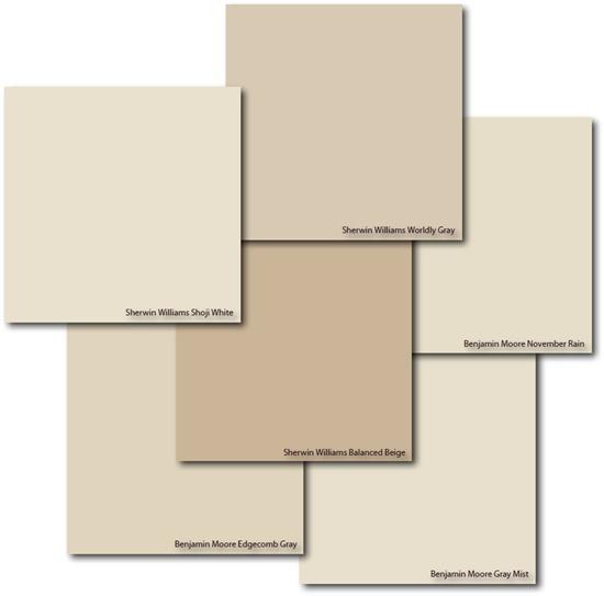 Laundry Room Color Palette: Shoji White