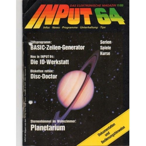 Input 64 - Commodore 64 / C64 Magazin
