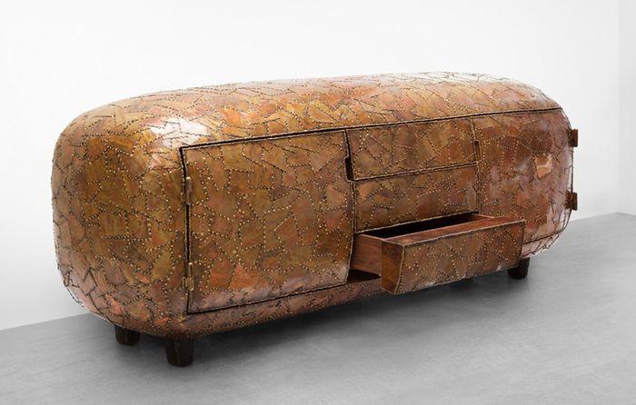 Необычная мебель из стали