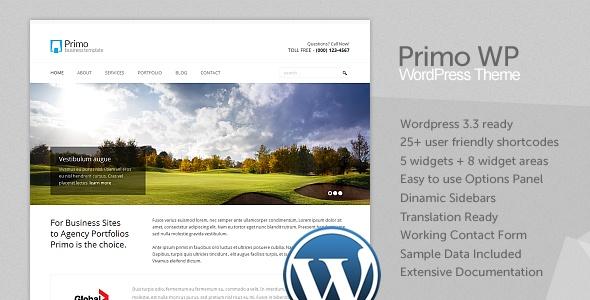 PRIMO wordpress themes