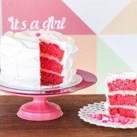 Pink Velvet + topper