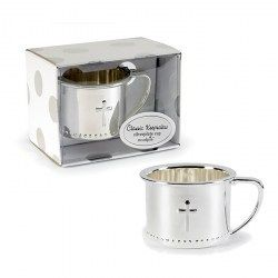 Something Blue - Mud Pie - Baby Favours - Silverplated Cup with Embossed Cross, R223.00 (http://www.somethingblue.co.za/mud-pie-baby-favours-silverplated-cup-with-embossed-cross/)