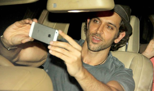 Image result for hrithik selfie