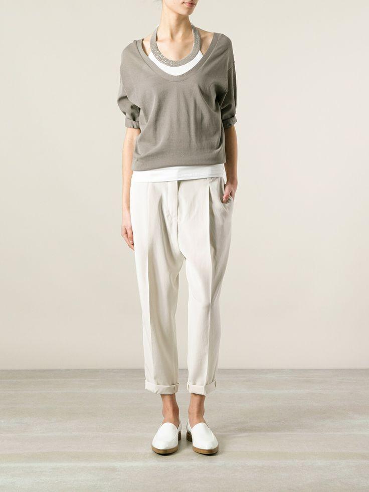 Brunello Cucinelli Classic Sweater - Spinnaker 101 - Farfetch.com