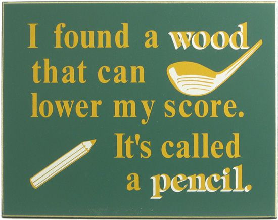 Northwest Gifts - Funny Golf Sign (http://northwestgifts.com/products/Funny-Golf-Sign.html)