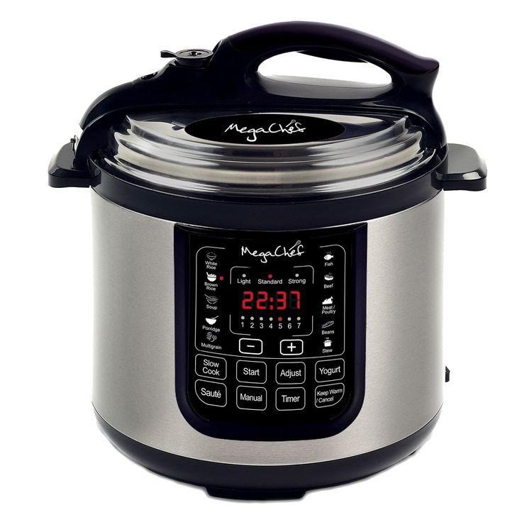 Mega Chef Megachef 8 Quart Digital Pressure Cooker with 13 Pre-set Multi Function Features