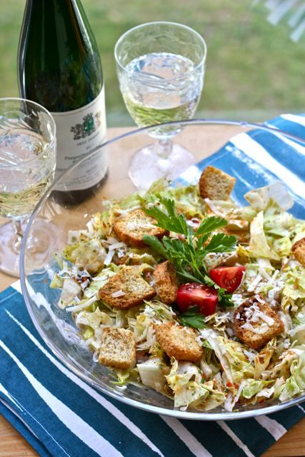 Your Southern Peach: Masters Party: Green Jacket Salad- the dressing makes this salad! Parmesan cheese and good seasonings is all you need. Toss lettuce with tomatoes and crunchy croutons and this dressing. MMM!!