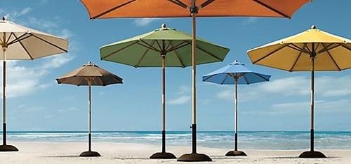 139 best images about beach umbrellas on pinterest for Restoration hardware outdoor umbrellas