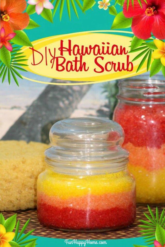 DIY Hawaiian Bath Scrub