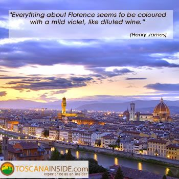 #Florence in the words of Henry James