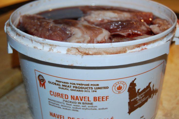 Newfoundland salt meat