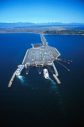 Tsawwassen Ferry Terminal, Delta, Greater Vancouver, Vancouver Island, British Columbia | by BCVacation