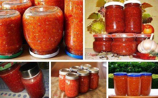 Adzhika Nejlepší recepty pro všechny chutě