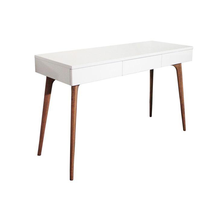 1000 id es sur le th me bureau blanc sur pinterest bureaux bureau domici - Bureau console design ...