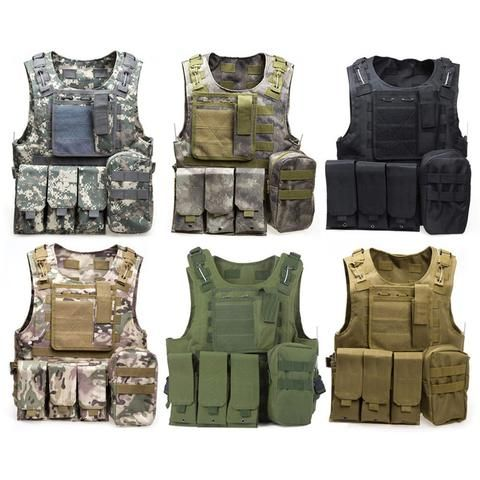 Camouflage Tactical Bulletproof Plate Carrier Vest With Molle Straps - Ninjutsu Tactical, Bulletproof, waterproof, hunting, military, tactical, law enforcement, edc, gear, camping, outdoors, prepping, survival Ninjutsu Tactical - Ninjutsu Tactical