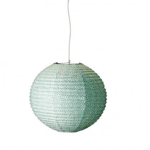 Bloomingville Rispapir Lampe