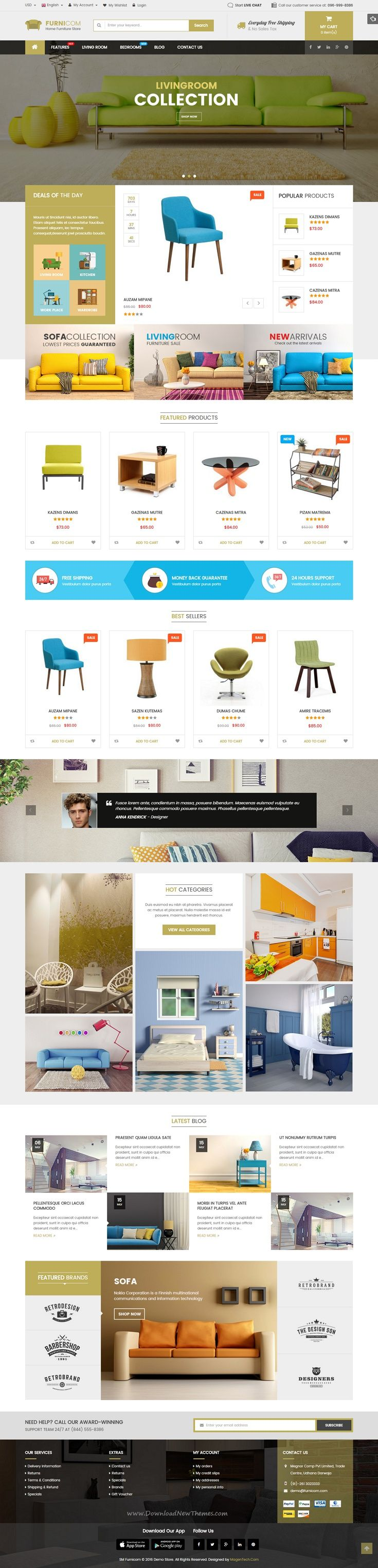 best furniture websites design. furnicom responsive magento 2 and 19 furniture theme web design best websites r