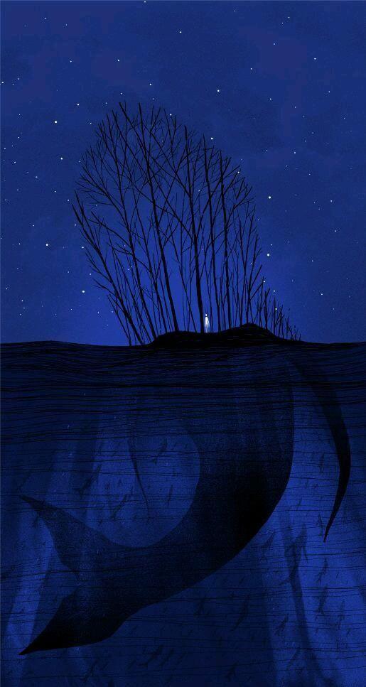Immersioni nel #blu. Notte silenziosa.....:-)