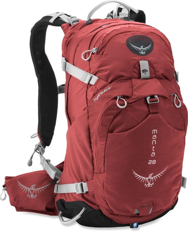 The latest and greatest when it comes to hydration packs with plenty of room for other stuff too! Osprey Manta 28 Hydration Pack - 100 fl. oz.