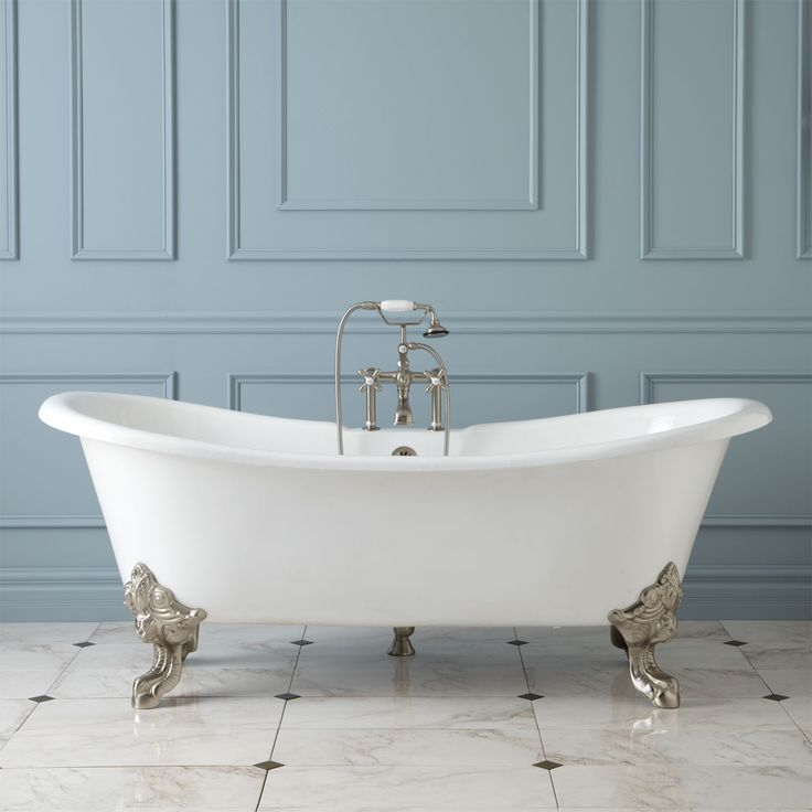 17 best images about products i love on pinterest cast for Slipper tub bathroom design