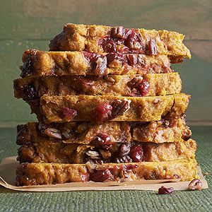 Come fall, it's often pumpkin or cranberry. Why not invite both to breakfast?…