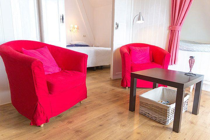 Appartement Wassenaar in Bed en Breakfast Oppe Klincke in Franeker, Friesland - Nederland