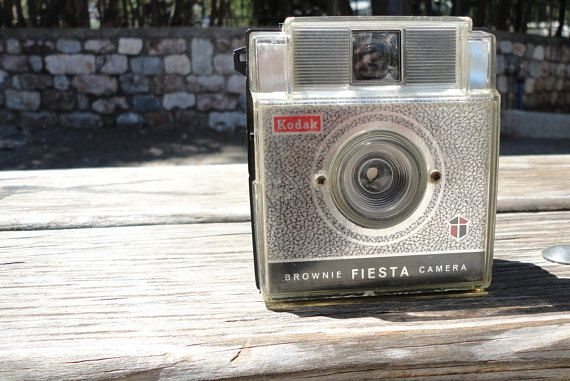 Vintage 1960s Kodak Brownie Fiesta Camera
