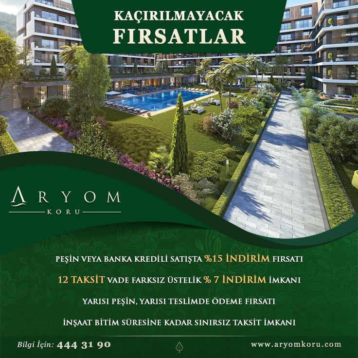 ARYOM KORU'dan Kaçırılmayacak Fırsatlar. Detaylı bilgi için 444 3190'ı arayabilir, www.aryomkoru.com veya Aryom Koru Tanıtım ve Satış Merkezi'ni ziyaret edebilirsiniz.  #aryom #aryomkoru #doğa #yeşil #koru #orman #sunum #huzur #huzurluyaşam #konfor #konforluyaşam #lüksyaşam #yaşam #mutlululuk #aile #lüks #lükskonut #konut #daire #izmir #izmirdeyaşam #izmirlifestyle #tbt #best #mimarlik #mimari #içmimari #peyzaj #spa #architecture