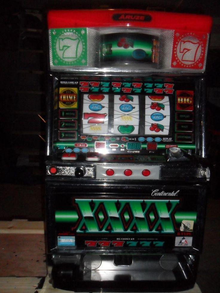 Aruze continental slot machine manual