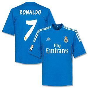 Adidas Real Madrid Away Ronaldo Shirt 2013 2014 Real Madrid Away Ronaldo Shirt 2013 2014 http://www.comparestoreprices.co.uk/football-shirts/adidas-real-madrid-away-ronaldo-shirt-2013-2014.asp