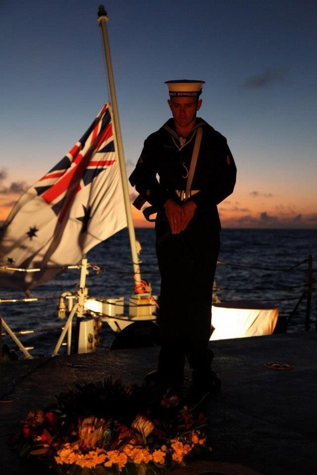 ANZAC Day Dawn Service | HMAS Newcastle