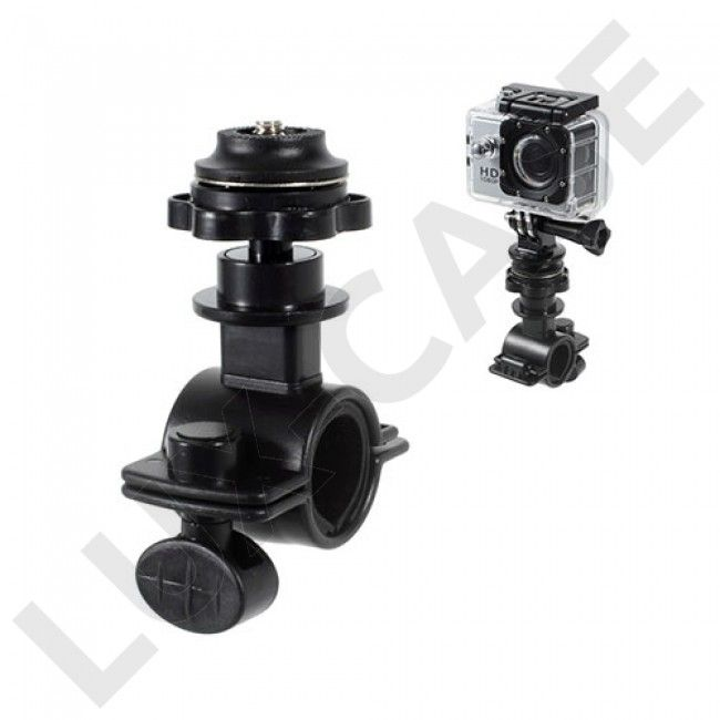 O Shape Sykkel Mount for GoPro Hero 4 Session - Sort - Hero - GoPro - Diverse - GRATIS FRAKT!
