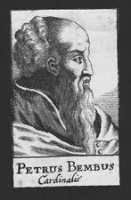 1680-Pietro Bembo Cardinale Venise Rom Roma Italia Rame chiave Portrait