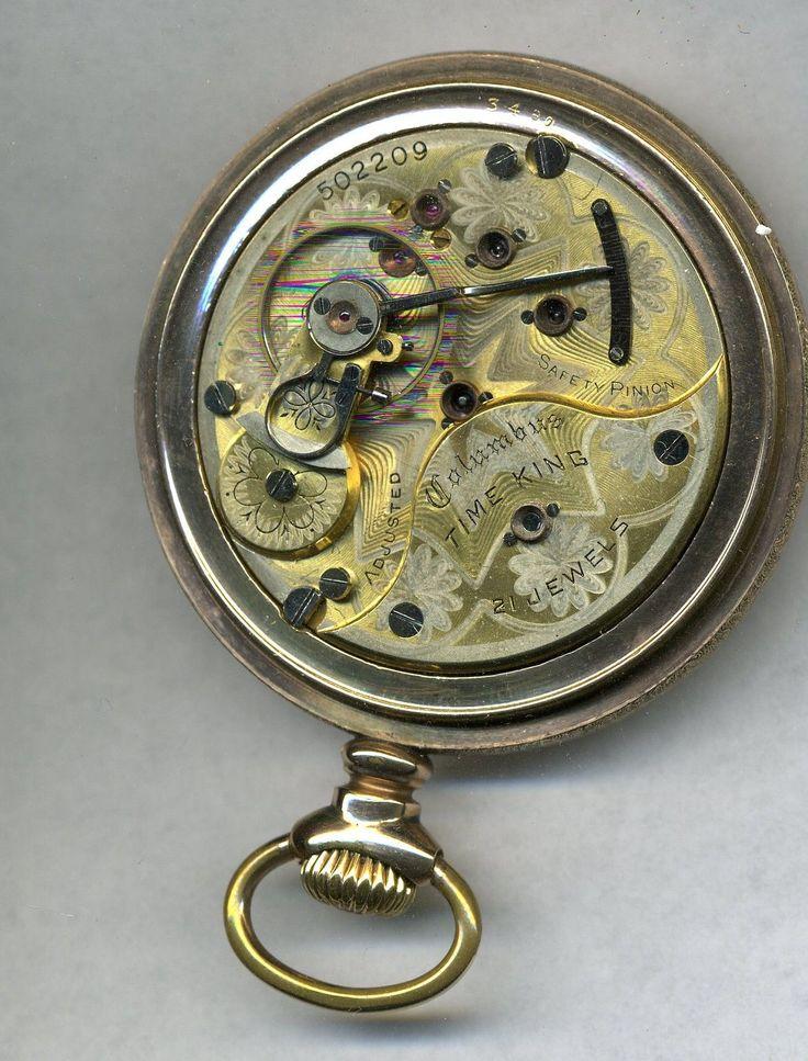 18s 21J Columbus Time King Railroad Grade Two Tone Pocket Watch | eBay