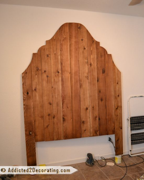 17 best images about our bedroom inspiration on pinterest for Cedar wood headboards
