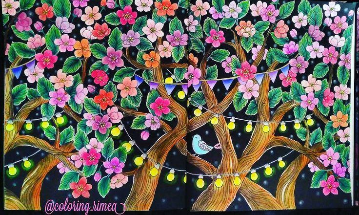 """114 To se mi líbí, 8 komentářů – °Rimea° Czech republik (@coloring.rimea) na Instagramu: """"#blomster #blomstermandalamalarbok #blomstermandala #mariatrolle #colorforadults #coloring #color…"""""""