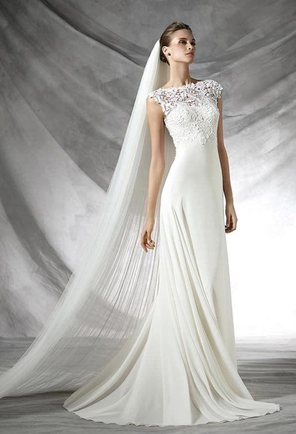 Elegant Pronovias Wedding Dresses