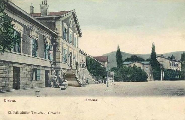 Orsova - Gara - 1903