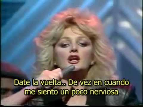 Bonnie Tyler - Total Eclipse of the heart (en español) - YouTube