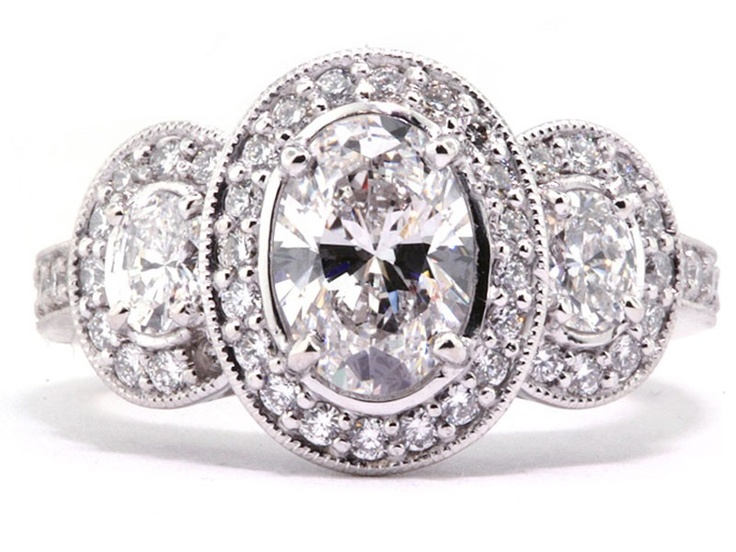 Love Oval Engagement Rings Just Enough Old School To Be Cly And New