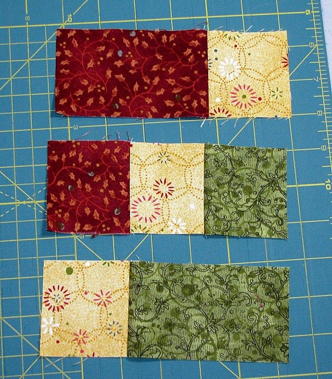 Accidental Quilt block redone Pieces2