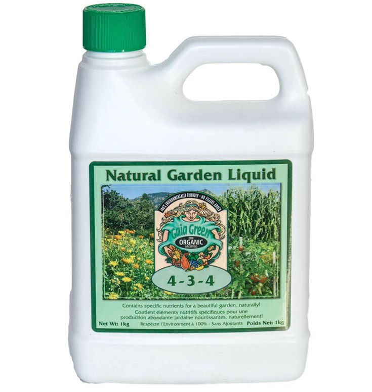 Use Gaia Green Natural Garden Liquid as a supplemental in season crop fertilizer or as one of the best made in BC organic liquid plant foods on the market.