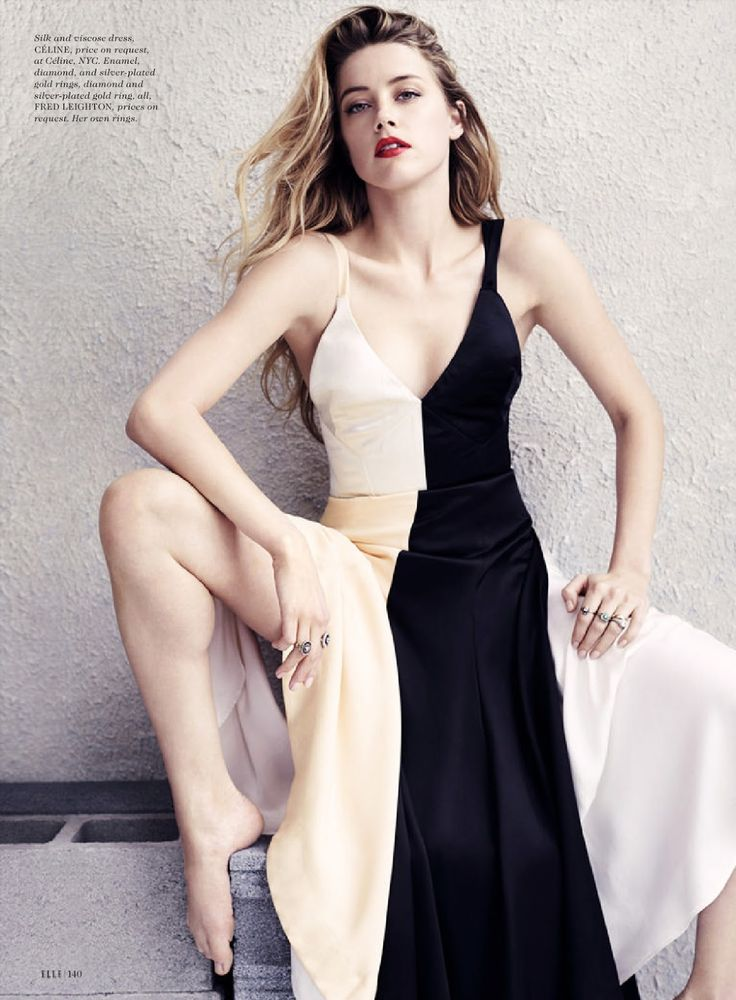 "Dreaming of Dior: ""The Wild One"" Amber Heard for ELLE July 2015"