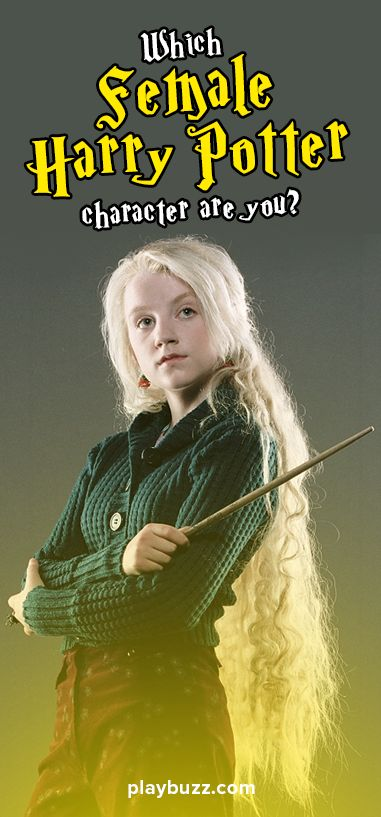 We all wanted to know growing up what magical female harry potter character we would be! Now you can find out!