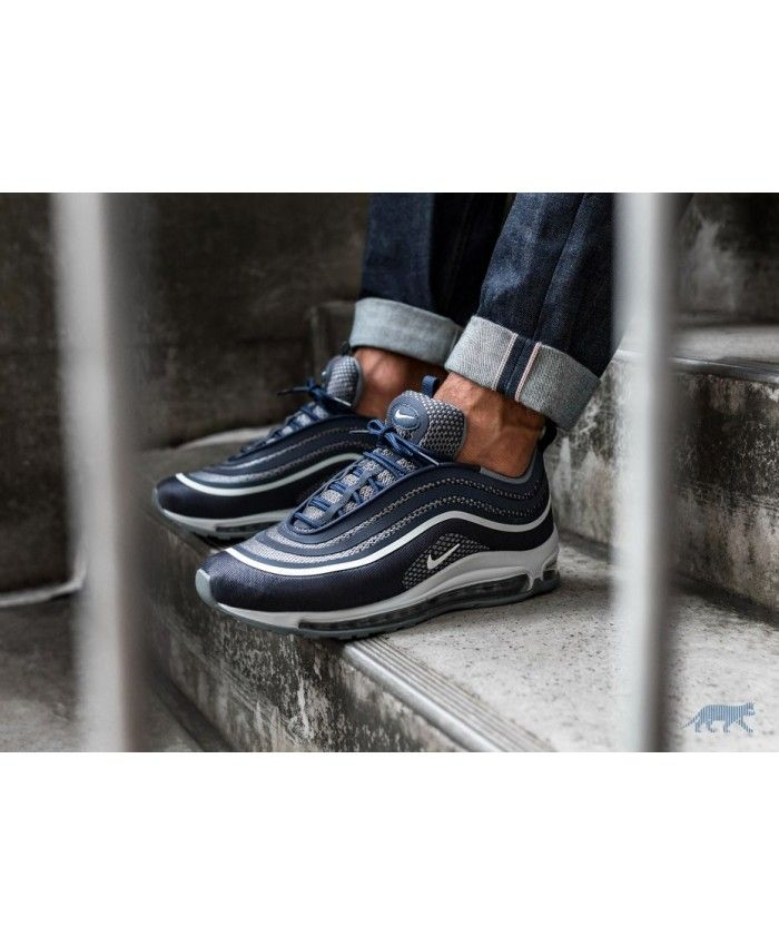 b5c6f3296e1 Nike Air Max 97 Ultra 17 Midnight Navy White Cool Grey Sale