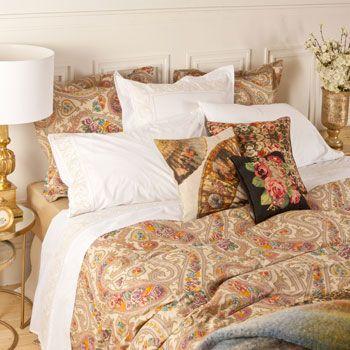 pi di 25 fantastiche idee su biancheria da letto paisley. Black Bedroom Furniture Sets. Home Design Ideas