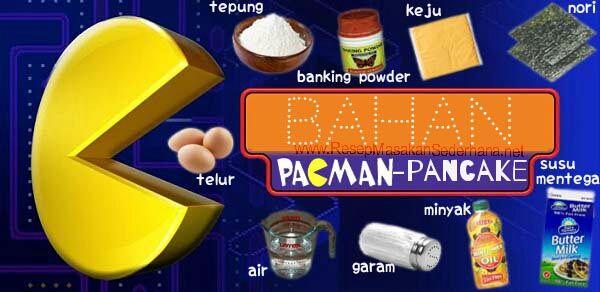 Masakan Unik - Pac Man Pancake  Bahan: • 100 g tepung • 1 sdt Baking powder • garam • 80 ml susu mentega • 50 ml air • 2 Telur • Sunflower Minyak untuk menggoreng • Keju dan nori, untuk hiasan  Video Cara Masak : http://www.youtube.com/watch?v=Q-5uldtKpXc  NB : website (http://ResepMasakanSederhana.net/) kami dalam proses pembuatan   #resep#masakan#sederhana#unik#unique#enak#recipes#food#pancake#pacman