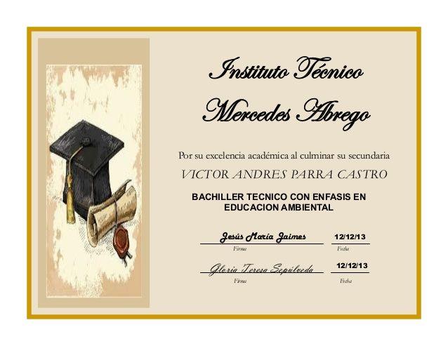Tarjetas de graduación de bachiller - Imagui