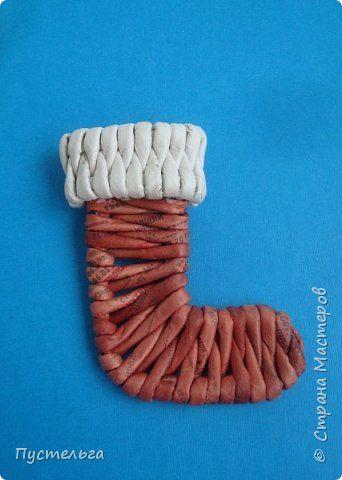 Снегирь для новогодней ёлочки. фото 12